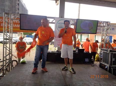 Dionizio Membro ODS na semana do lixo zero