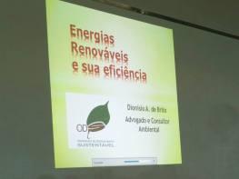 Palestra energias renováveis Dionisio ODS