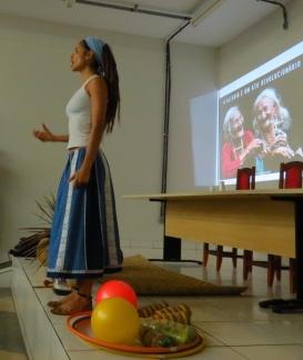 Palestra sobre Ecologia Pessoal